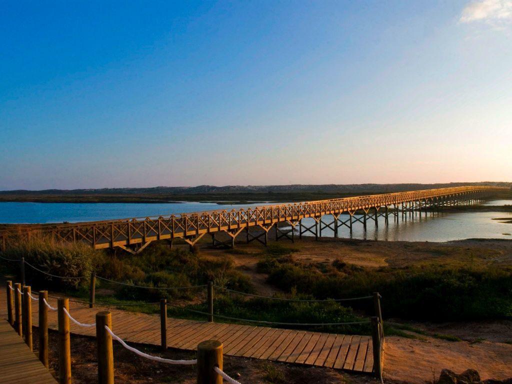 Parque Natural da Ria Formosa - Bridge