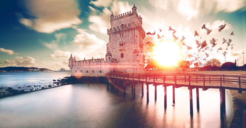 top-tour-belem-tower-sunset-lisbon-portugal.